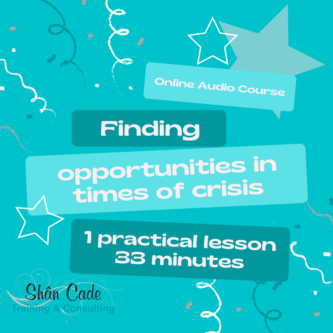 Finding opportunity in times of crisis