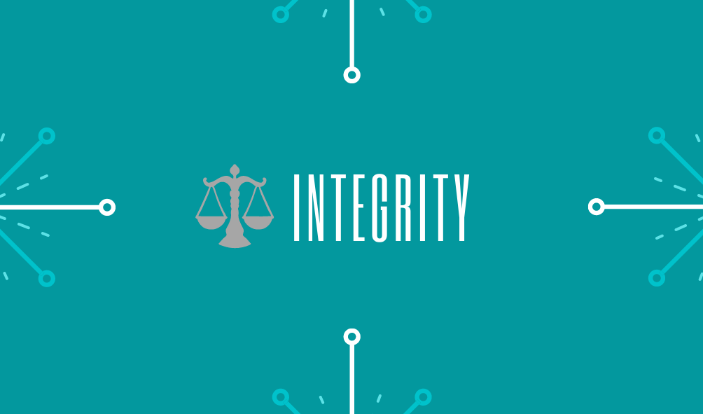 About Us - Our Values: Integrity