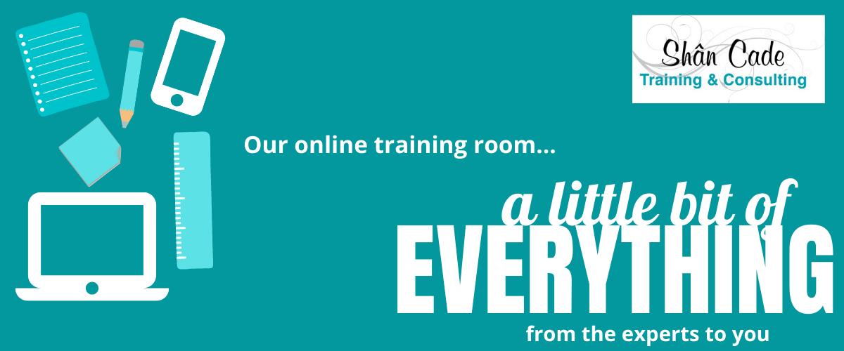 Online training room banner