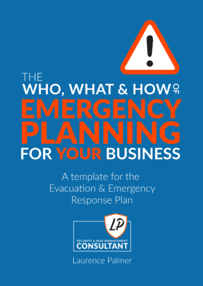 Emergency planning for your workplace- Book cover